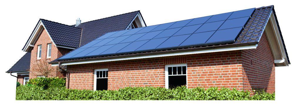 Solaraktive Dachaufbauten
