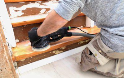 Holztreppen in drei Schritten selbst renovieren
