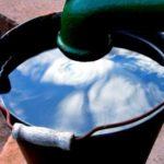 Wasser aus der Zisterne