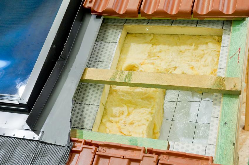 Wärmedämmung eines Daches