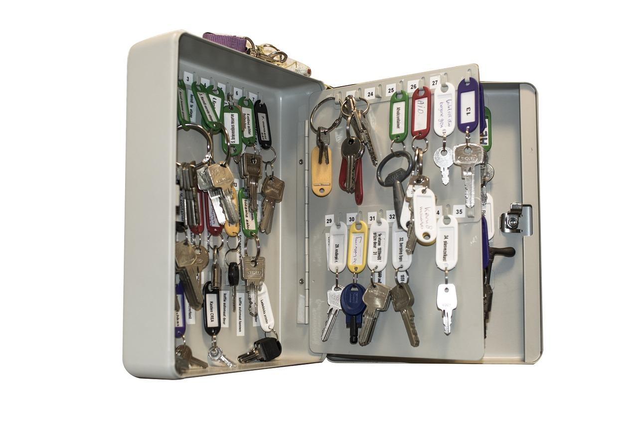 Schlüsselschränke für die richtige Aufbewahrung | BAUKRAM